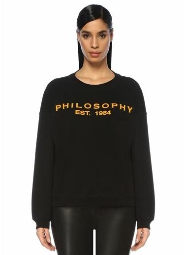 Philosophy Di Lorenzo Serafini Sweatshirt Siyah